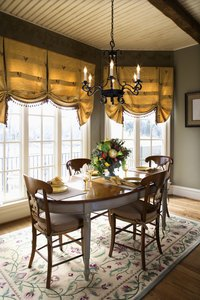 Window treatments set the decor of any room.