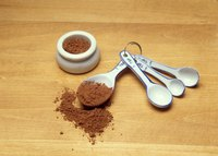 Cocoa is the only ingredient in Brown Gold Cocoa Powder.