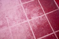 Clean your grout at least once a month.