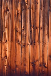 Grooved paneling gives your home a dated appearance.