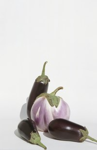 Hundreds of types of eggplant exist, including many heirloom varieties.