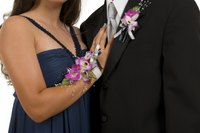 Wrist corsages make more sense if the girl's dress has thin straps or is strapless.