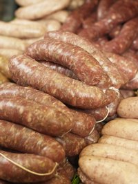 Fresh sausages must be baked at low temperatures for  best results.
