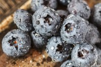 Turning blueberries into wine can take up to 6 months.