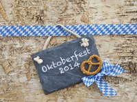Create small Oktoberfest decorations as party favors.