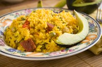 Sofrito gives a Puerto Rican flair to rice dishes.
