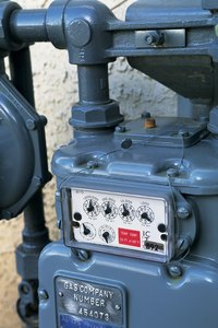 Gas meters are owned and maintained by the gas utility.
