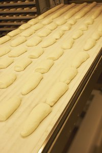 Commercial bakeries use fresh yeast, but dry is more convenient at home.