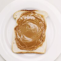 Peanut butter is  a simple blend of peanuts and oil.