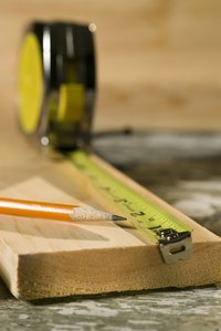 Have a tape measure handy when building a soffit box.