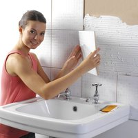 Grout's watertight seal makes it appropriate for use in bathrooms.