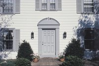 North-facing front doors benefit from one of several colors.