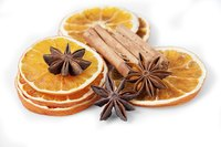 Dehydrated oranges bring a flavorful kick to teas and sauces.