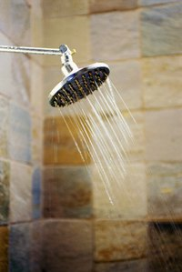 Water leaks from your shower can weaken the floor joists.