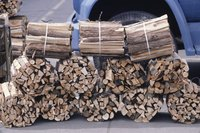 Keep firewood contained in bundles.