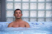 The first Jacuzzi whirlpool bath came on the market in 1968.