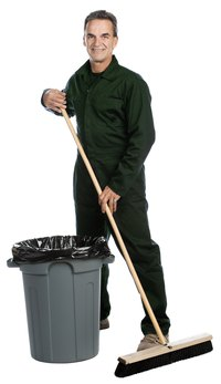 With some props and an easy outfit, you can dress like a janitor in no time.