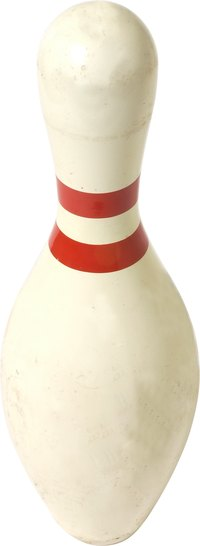 Get inspiration from a bowling pin for a Halloween costume.