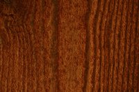 You can hide open or ugly wood grain with the right type of stain.