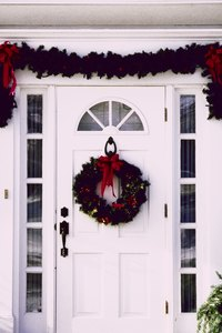 Sidelights add extra light to your entryway.