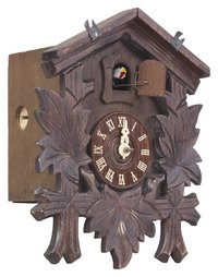 The first cuckoo clocks consisted entirely of wood.