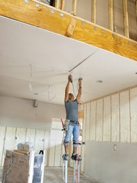 Use rosin paper behind drywall to prevent air and moisture movement.