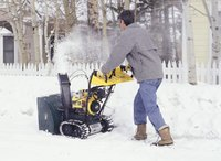 Keep your snowblower in good repair for optimum performance.
