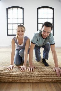 Many homeowners discover attractive flooring concealed beneath their old carpeting.