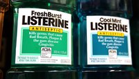 Elements within Listerine can apparently deter mosquitoes.