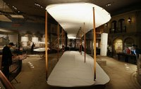 The 1903 Wright Flyer is a milestone in the history of aeronautics.