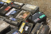 Car batteries are a common cause of sulfuric acid spills.