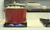 If you have one, use a stovetop popcorn kettle.