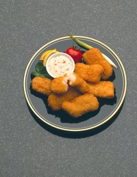 Tartar sauce is often used as a dip for fried fish.