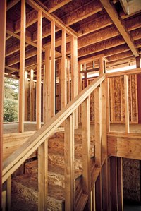 Broken or extra-long joists need reinforcing.