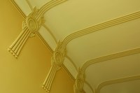 Whether ornate or plain, determining the gross area of the ceiling is straightforward.