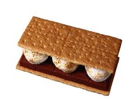 "S'mores earn their name from the phrase ""give me some more."""