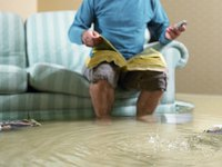 A sump pump protects an area or edifice from flooding.