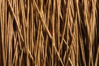 Hemp cord is strong and durable and will last a long time.
