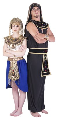 Egyptian costumes should include headpieces for authenticity.