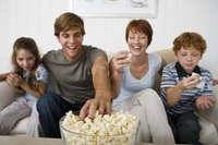 Make a big bowl of popcorn for family movie night.