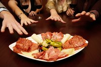 Antipasto signifies the beginning of a traditional Italian meal.