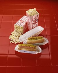 Serve hotdogs, popcorn and other carnival foods at your indoor carnival celebration.