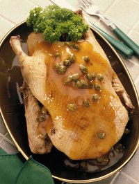 If you're only cooking for a few guests for the holidays, try serving duck instead of turkey.