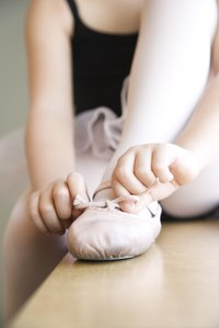 You can wear ballet shoes for more than just dancing.
