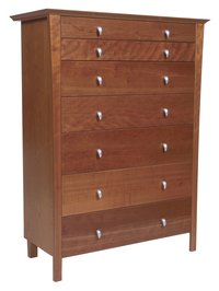 Move a dresser alone with ease.