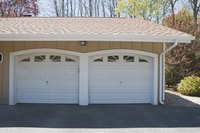 Keeping garage doors closed can help keep smoke out.
