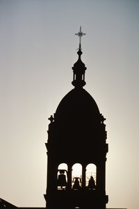 Make your bell tower as simple or elaborate as you desire.