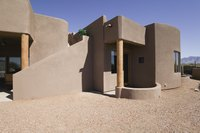 Adobe homes are mud brick projects writ large.
