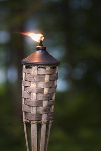 Handmade tiki torch wicks burn as well as store bought ones.