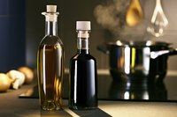 Vinegar-and-oil dressing keeps for two to three days, depending on the flavoring ingredients.